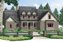 House Plan Design - Colonial Exterior - Front Elevation Plan #927-969