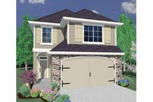 Traditional Exterior - Front Elevation Plan #509-212