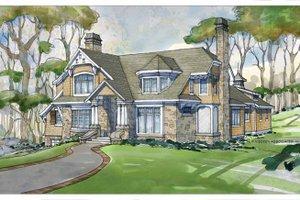 Craftsman Exterior - Front Elevation Plan #928-235