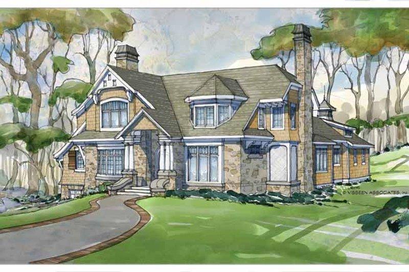 Craftsman Exterior - Front Elevation Plan #928-235 - Houseplans.com