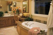 Mediterranean Style House Plan - 3 Beds 4.5 Baths 5220 Sq/Ft Plan #930-194 Interior - Bathroom