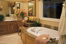 Mediterranean Interior - Bathroom Plan #930-194