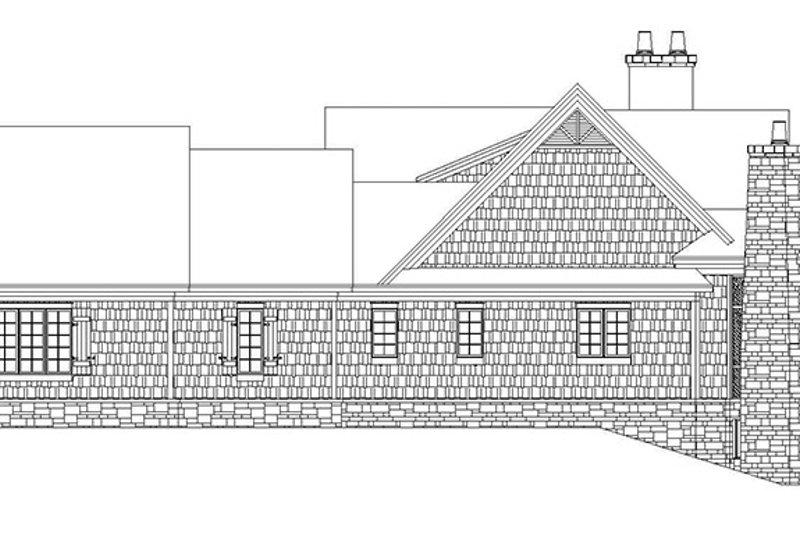 Craftsman Exterior - Other Elevation Plan #929-931 - Houseplans.com