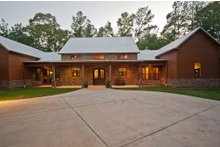 Home Plan - Modern design, Ranch style home, elevation photo