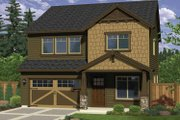 Craftsman Style House Plan - 3 Beds 2.5 Baths 2033 Sq/Ft Plan #943-25 Exterior - Front Elevation