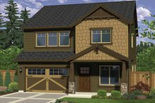 Craftsman Exterior - Front Elevation Plan #943-25