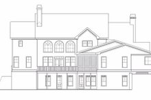 Craftsman Exterior - Rear Elevation Plan #419-147