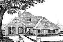 Home Plan - European Exterior - Front Elevation Plan #310-864
