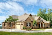 Craftsman Style House Plan - 5 Beds 5 Baths 3644 Sq/Ft Plan #437-105 Exterior - Other Elevation