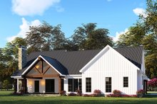 Home Plan - Country Exterior - Rear Elevation Plan #923-130