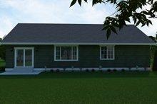 Craftsman Exterior - Rear Elevation Plan #1070-49