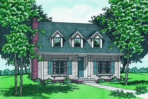 Farmhouse Exterior - Front Elevation Plan #20-811