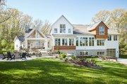 Farmhouse Style House Plan - 5 Beds 3.5 Baths 4478 Sq/Ft Plan #928-308 Exterior - Rear Elevation