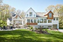 Farmhouse Exterior - Rear Elevation Plan #928-308