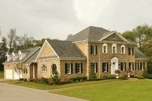 Colonial Exterior - Front Elevation Plan #137-200