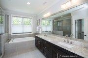 European Style House Plan - 3 Beds 2.5 Baths 2817 Sq/Ft Plan #929-903 Interior - Master Bathroom