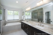 Dream House Plan - European Interior - Master Bathroom Plan #929-903