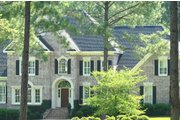Traditional Style House Plan - 5 Beds 4.5 Baths 4177 Sq/Ft Plan #1054-83 Exterior - Front Elevation
