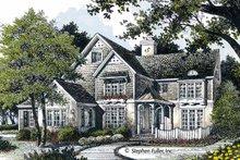 Home Plan Design - European Exterior - Front Elevation Plan #429-361