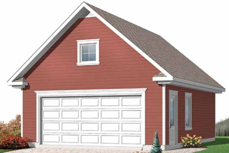 Exterior - Front Elevation Plan #23-2456