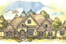 Architectural House Design - European Exterior - Front Elevation Plan #929-942