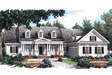 House Plan Design - Colonial Exterior - Front Elevation Plan #927-815