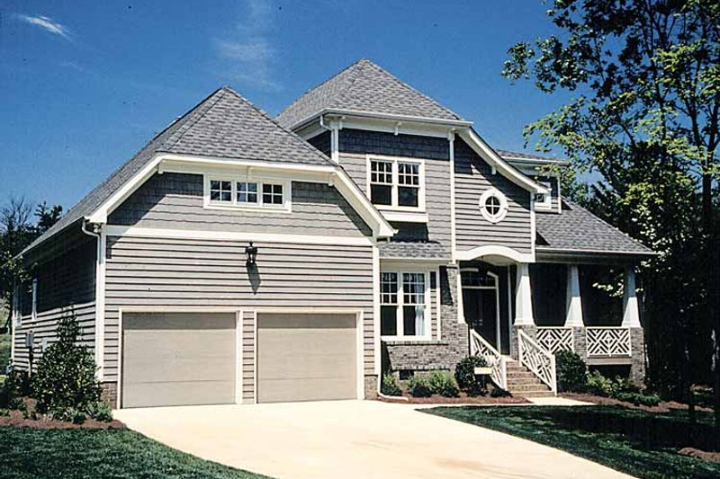 Craftsman Exterior - Front Elevation Plan #453-225