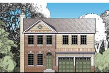 Home Plan - Traditional Exterior - Front Elevation Plan #1029-63