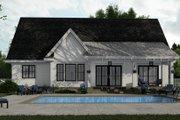 Farmhouse Style House Plan - 3 Beds 2.5 Baths 2046 Sq/Ft Plan #51-1151 Exterior - Rear Elevation