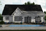 Farmhouse Style House Plan - 3 Beds 2.5 Baths 2046 Sq/Ft Plan #51-1151 Exterior - Rear Elevation