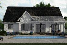 Home Plan - Farmhouse Exterior - Rear Elevation Plan #51-1151