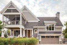 Contemporary Exterior - Front Elevation Plan #928-274
