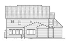 Dream House Plan - Traditional Exterior - Rear Elevation Plan #1010-136