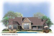 Dream House Plan - Craftsman Exterior - Rear Elevation Plan #929-742