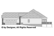 Traditional Floor Plan - Other Floor Plan Plan #1057-4
