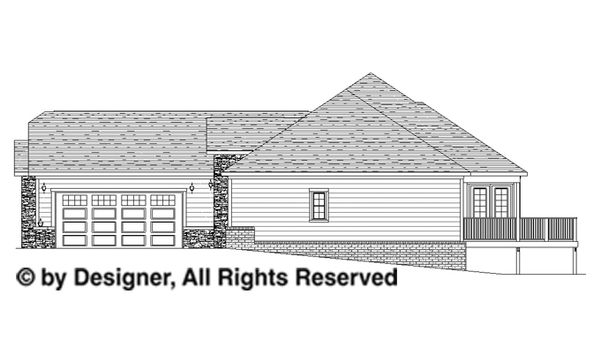 Dream House Plan - Traditional Floor Plan - Other Floor Plan #1057-4