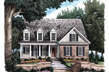 House Plan Design - Colonial Exterior - Front Elevation Plan #927-796
