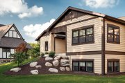 Craftsman Style House Plan - 3 Beds 2.5 Baths 3641 Sq/Ft Plan #928-266 Exterior - Rear Elevation