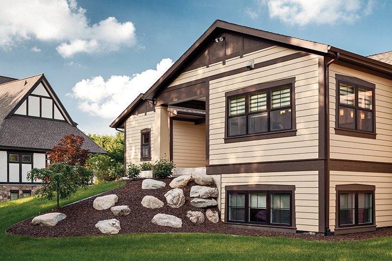 Craftsman Exterior - Rear Elevation Plan #928-266 - Houseplans.com