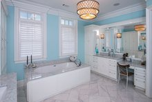 Dream House Plan - Classical Interior - Master Bathroom Plan #930-460