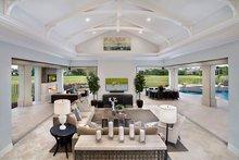 Mediterranean Interior - Family Room Plan #1017-158