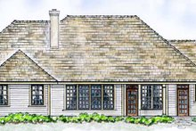 House Design - European Exterior - Rear Elevation Plan #410-3563