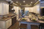 Country Style House Plan - 4 Beds 3 Baths 2525 Sq/Ft Plan #17-2682 Interior - Kitchen