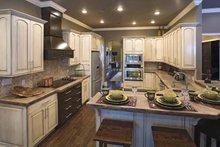 Country Interior - Kitchen Plan #17-2682