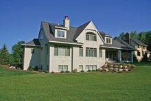 Architectural House Design - European Exterior - Rear Elevation Plan #928-215