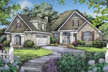 Craftsman Exterior - Front Elevation Plan #929-802