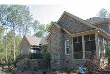 House Plan Design - Colonial Exterior - Rear Elevation Plan #927-587