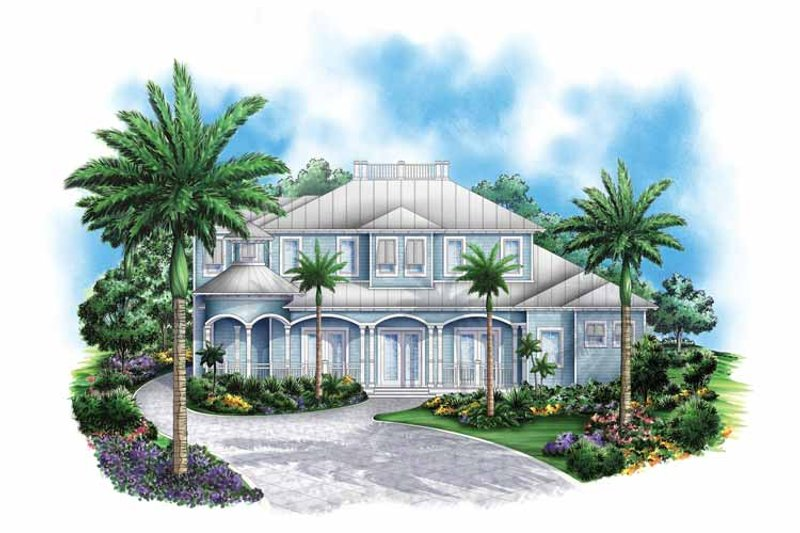 Country Exterior - Front Elevation Plan #1017-130 - Houseplans.com