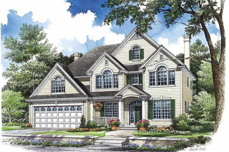 Traditional Exterior - Front Elevation Plan #929-764