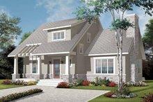 House Plan Design - Craftsman Exterior - Front Elevation Plan #23-2371